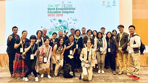 WEEC 2019宣揚台灣學校環境教育成果