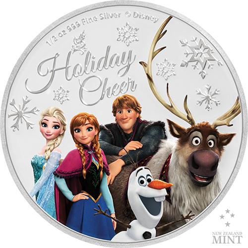 《冰雪奇緣II》彩色精鑄銀幣,綺麗登場!
