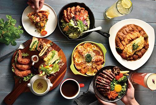 木思MOST全新健康廚房,推薦價210元起,平日用餐4人同行1人即可享免費。
