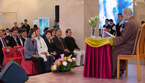 總統蔡英文出席正德醫院落成典禮