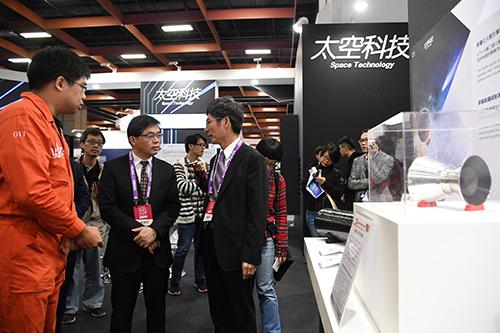 行政院秘書長李孟諺出席「2019未來科技展」