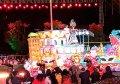 「海絲連世界‧歡樂遊福州」花車巡遊 全場氣氛熱情奔放