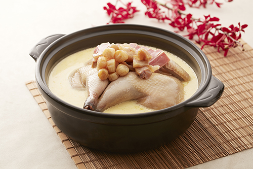 台北喜來登雲腿濃湯一品雞菜色照