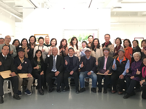 賴世榮水彩畫展新竹開幕 展現浪漫台三線山城客情