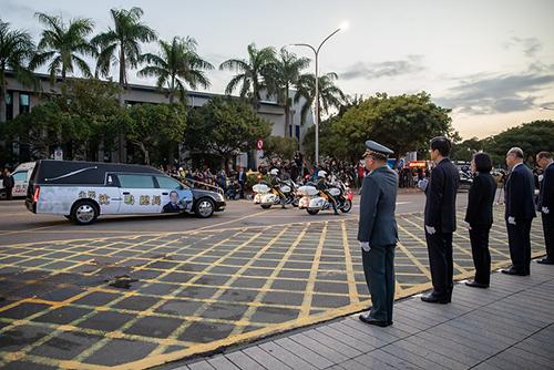 總統蔡英文向殉職將士緬懷致敬