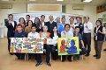 韓國瑜訪視楠梓特殊學校 推動身心障礙藝術教育