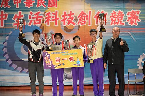 板橋國中榮獲全國第1名5連霸