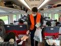 春節返工專車台東縣府發放750個口罩及消毒性洗手液