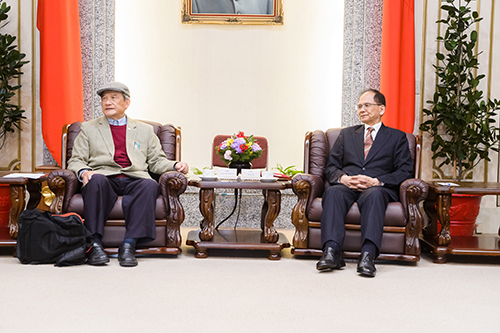 立法院長游錫堃接見台灣聯合國協進會理事長
