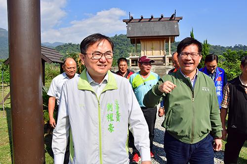 立法委員劉櫂豪主持交通考察爭取1.6億餘元觀光建設