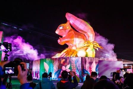 花蓮太平洋燈會圓滿落幕 吸引逾百萬人次參觀