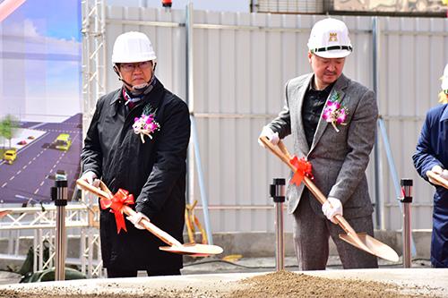 竹北自強七街立體停車場BOT案開工 預計111年1月完工