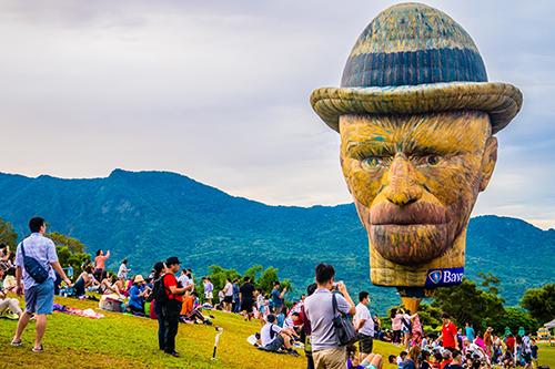 台東最受歡迎造型熱氣球票選結果出爐 梵谷球最夯奪冠