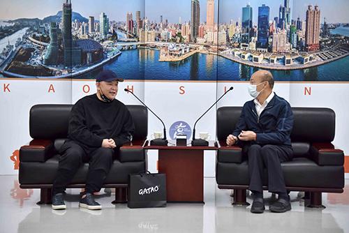 《角頭》影集劇組拜會 高雄市長韓國瑜盼以文化行銷高雄
