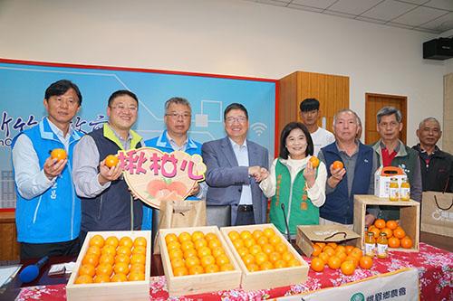 張榮發基金會捐贈2.5萬斤愛心柑橘 新竹縣105機構團體受惠