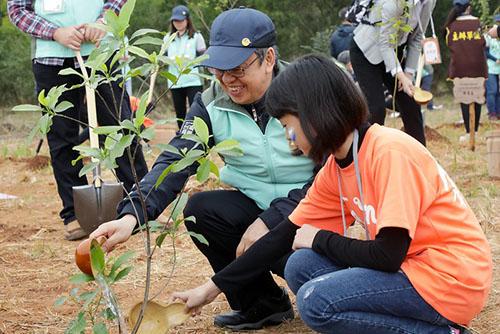 出席植樹節活動 副總統:與自然生態達成共存共榮