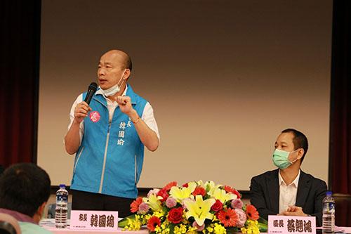 關心仁武區里政務 高雄市長韓國瑜:延續城市衝刺速度