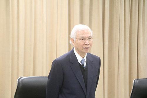 中央銀行總裁楊金龍日前舉行記者會神情(資料照片 記者陳念祖/攝)