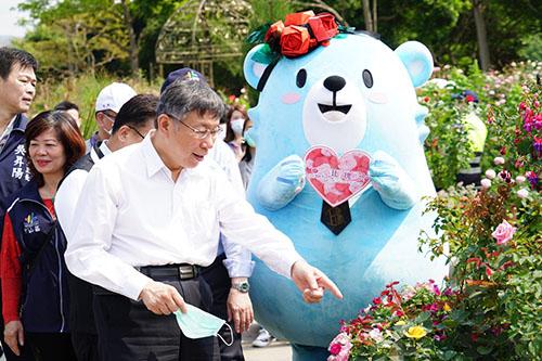 台北市長柯文哲:全力協助北市企業撐過疫災