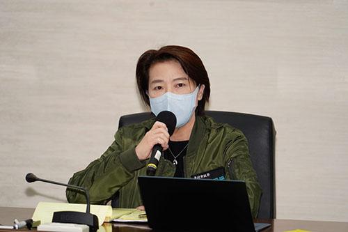 台北副市長黃珊珊:擴增防疫旅館