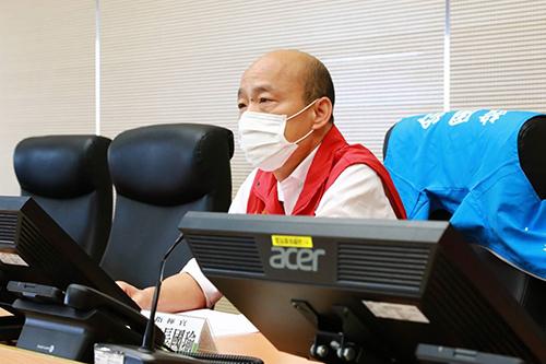 高雄市長韓國瑜籲軍方提供完整疫情訊息