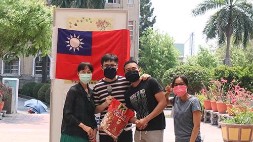 高苑科大外籍生玩遊戲 融入台灣防疫日常