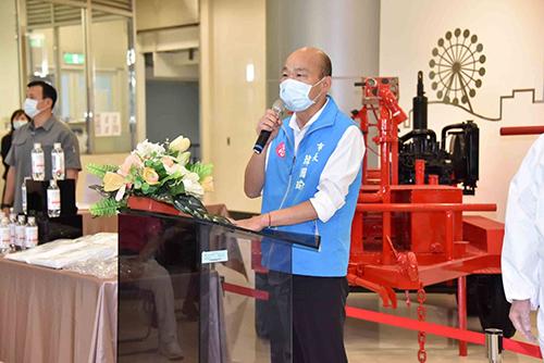 暖心捐助防疫物資 高雄市長韓國瑜感謝各界捐贈