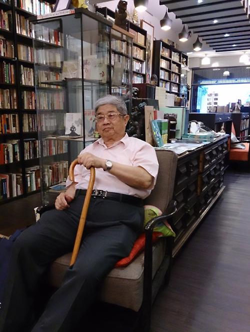 趙天儀教授(國立臺灣文學館提供)