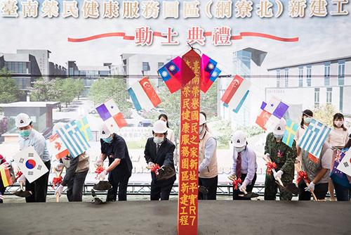 副總統賴清德:榮民有長照服務 落實「醫、養合一」