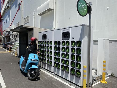 綠色運具正夯!新竹市府增設電池交換站