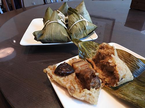 台東縱谷米倉粽飄香 有媽媽的味道