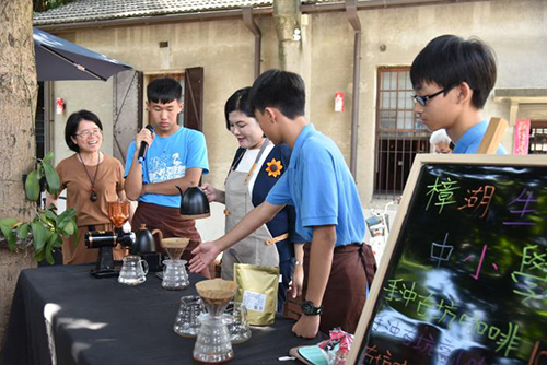 幫助小農 做公益─樟湖生態國中小行動咖啡走遍台灣