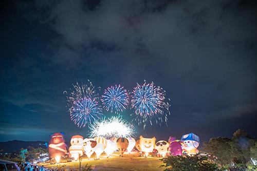 2020台灣國際熱氣球嘉年華魅力無法擋 開幕首日引爆12萬人潮