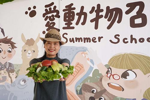 不一樣的夏令營!來新竹市立動物園挑戰動物保母