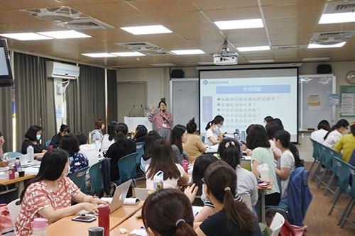 新住民跨國銜轉學生提升華語學習 教師增能研習及數位學習平台成效佳