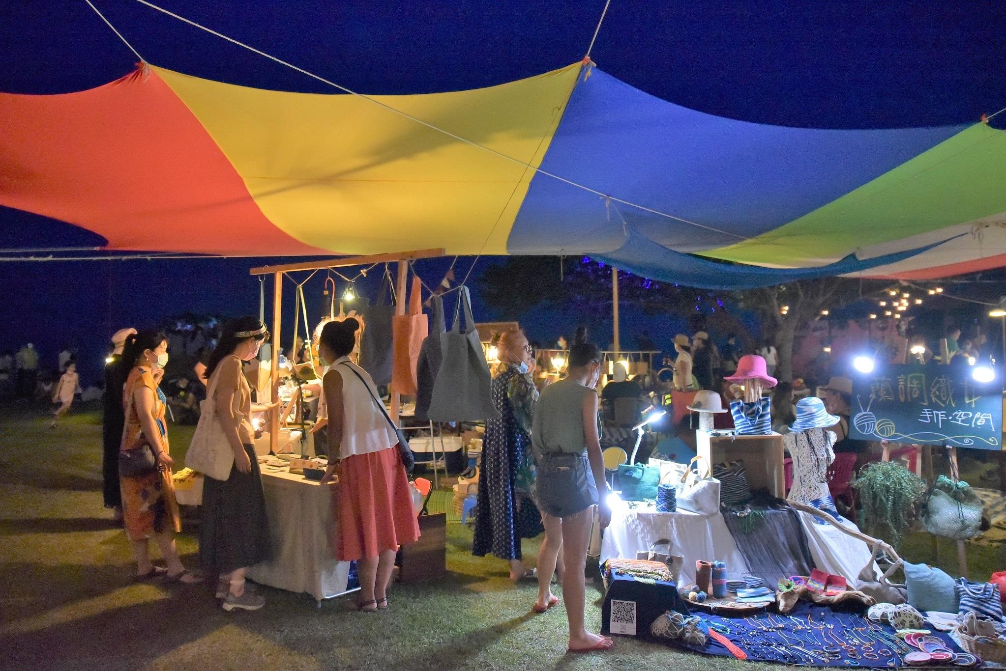 2020東海岸大地藝術節8月場次月光・海音樂會累計參加人次近2萬人