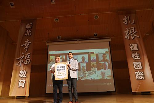 新北百位外師全國最多 侯友宜宣示啟動2030新北雙語城