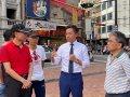 新竹市都城隍廟廣場假日行人徒步區試行擴大
