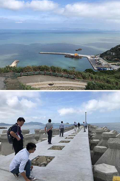 連江白沙碼頭區外廓設施改善完工 港區靜穩度大幅提升