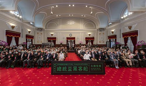 總統蔡英文:公私協力就是黑客精神最具體的實踐