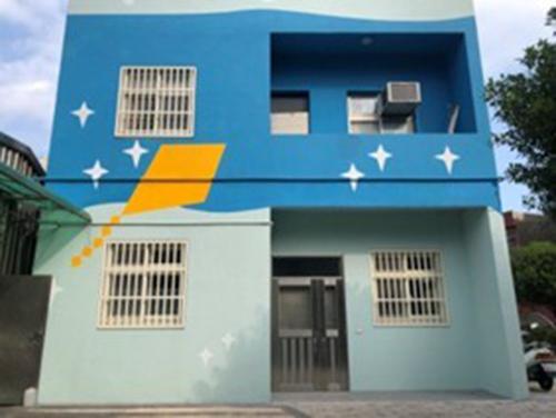 新北市老梅國小宿舍外牆及窗戶整修施工後
