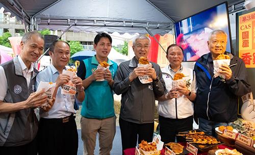 第三屆CAS國產香雞排嘉年華移師桃園舉行,促銷優質國產雞肉