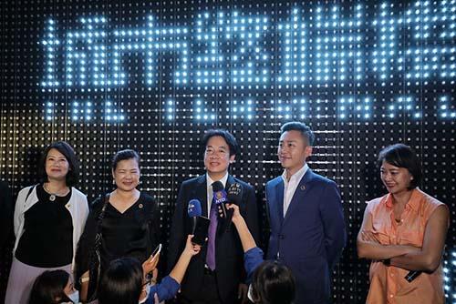 副總統賴清德參訪新竹台灣設計展暨出席閉幕式