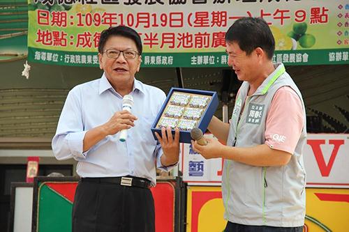 屏東成德社區香檬產業成果發表 縣長盛讚美妝系列