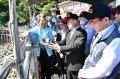 視察石門水庫 行政院長蘇貞昌:加強對全國水庫的建設與管理