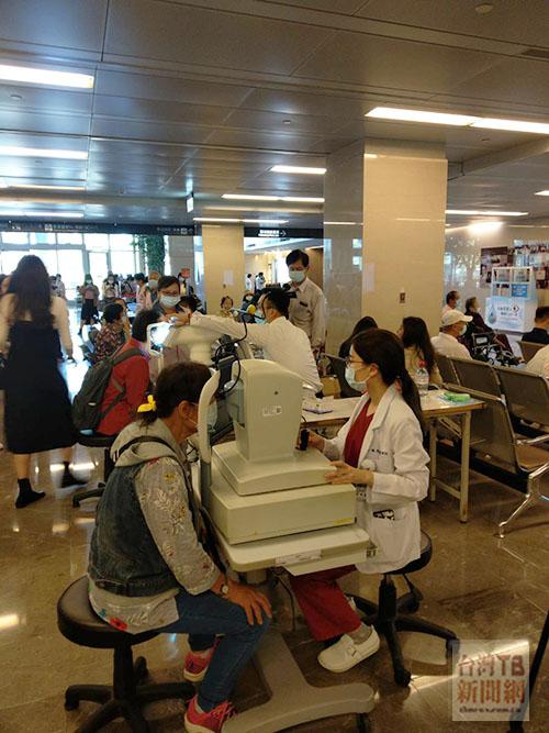 亞東醫院展開乾眼症篩檢與衛教講座