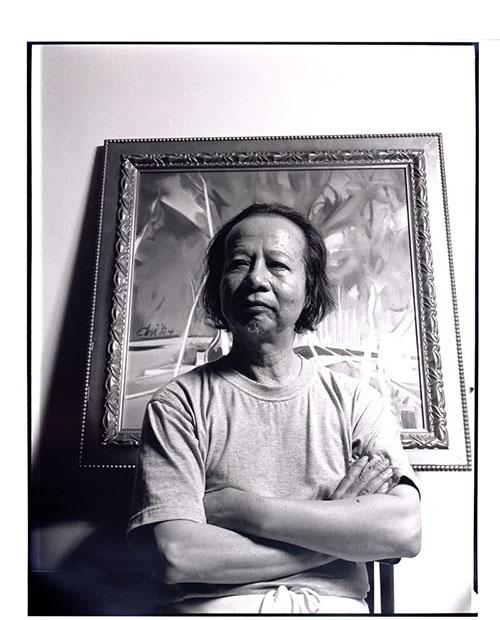 七等生〈國立台灣文學館提供/林柏樑攝影〉