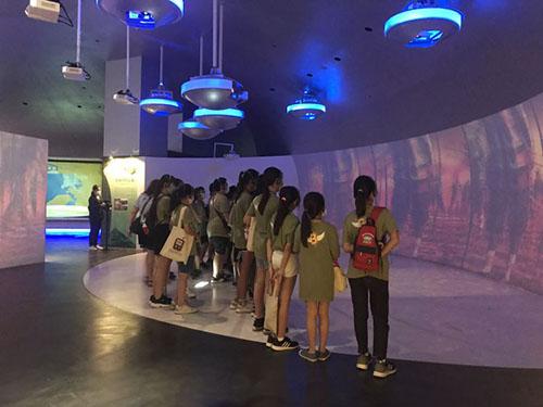 南科考古館推出台南市民「客廳卡」,持卡可帶兩位同行者免費參觀