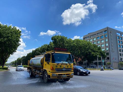 台灣56年來最大乾旱 嘉市解水荒 回收水供民眾免費取用