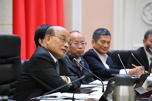 行政院長蘇貞昌:支持出版產業振興 讓台灣與世界競爭